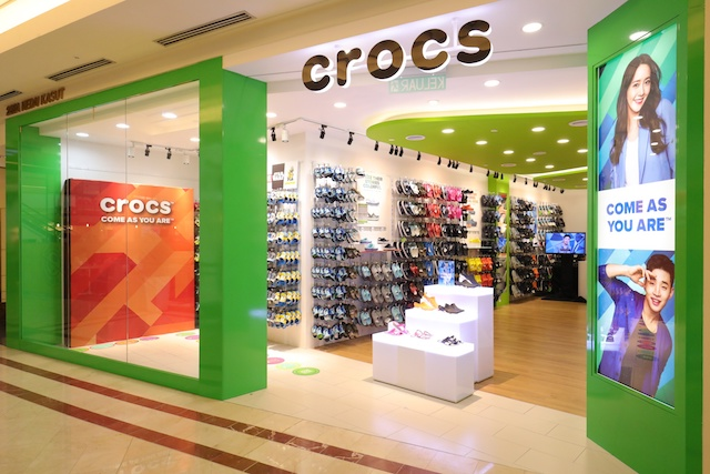 Crocs New Concept Store In KLCC