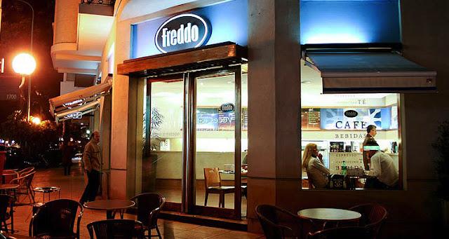 Cafés e sorvetes Freddo em Buenos Aires
