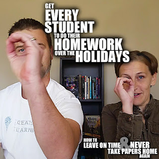 Ever have trouble getting your students to do their homework over holiday? Today, we're gonna share the magical secret to get EVERY STUDENT to do their homework over the holidays.
