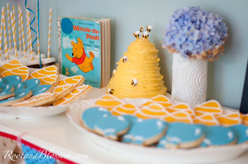 Fawn Over Baby Winnie The Pooh 1st Birthday Party Guest Post By Lena From Root Blossom