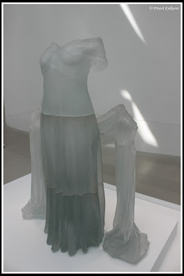 Dress made up of Glass