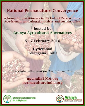 National Permaculture Convergence by Aranya Agriculture Alternatives | my experiences as a speaker and as a participant