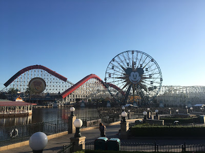 Overview of Pixar Pier at Disney California Adventure