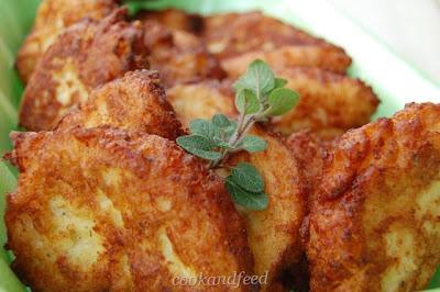 κουνουπιδοκροκέτες – cauliflower bites