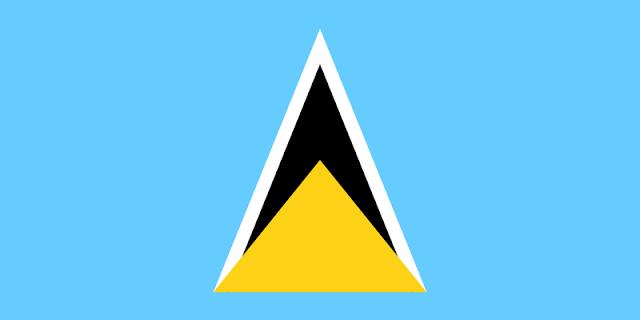 Bendera negara Saint Lucia