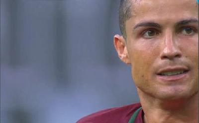 Cristiano Ronaldo se rompe en la final de la Eurocopa