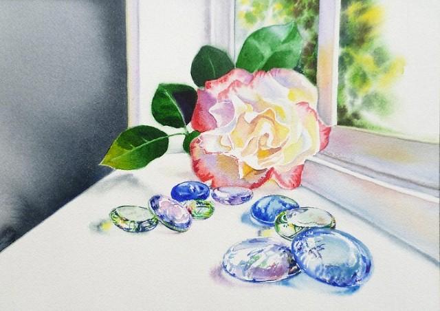 Цветы и цветочные натюрморты акварелью. Irina Sztukowski 21