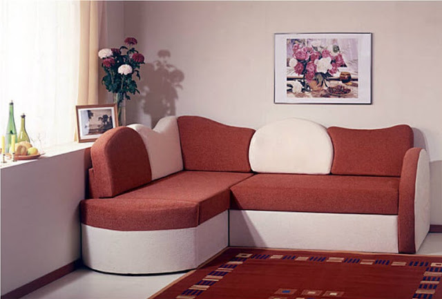 Large - Small Corner Sofa