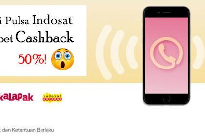 Cara Membeli Pulsa Indosat Dapet Cashback 50%