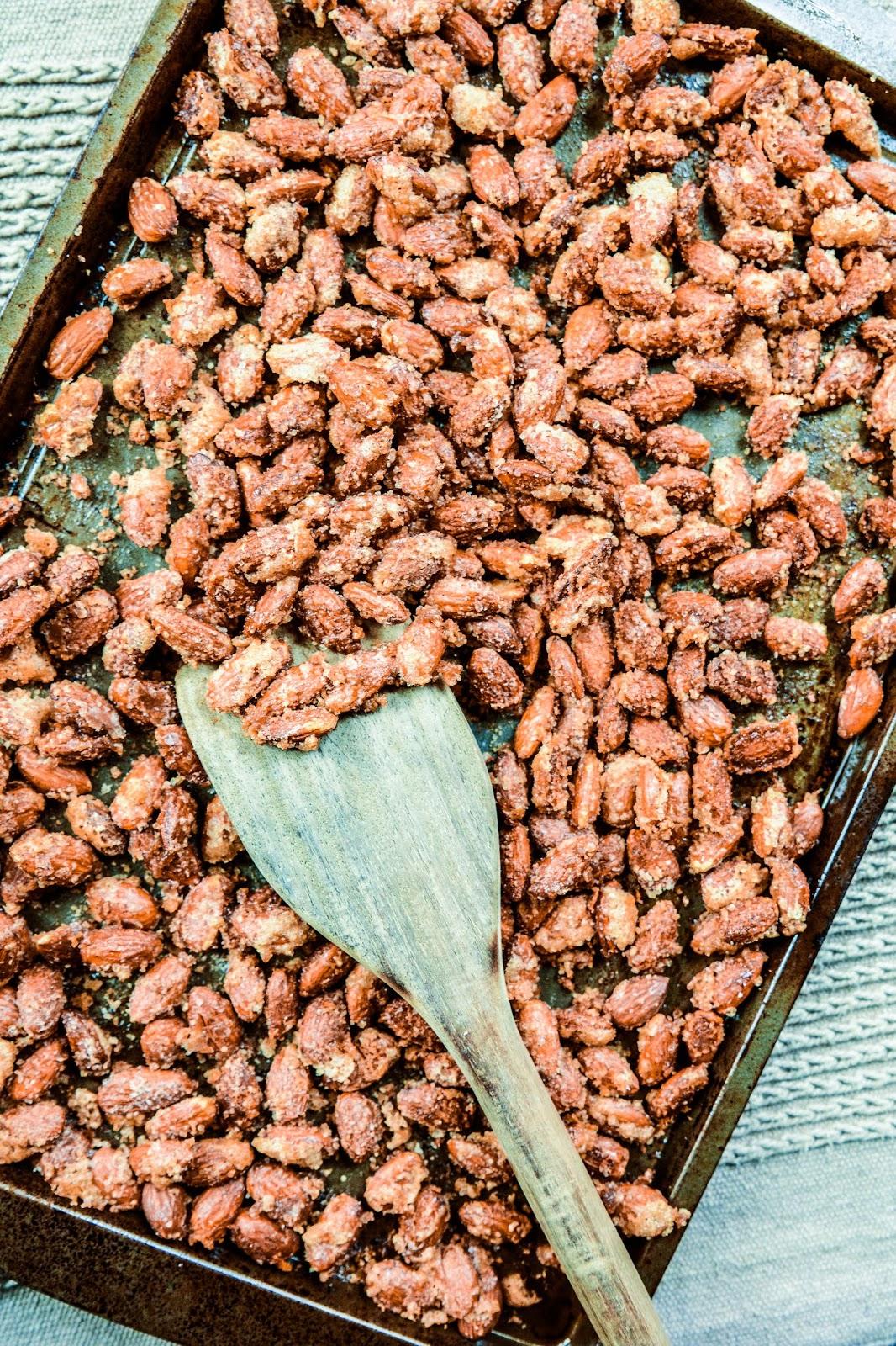 Toasted Sugar Almonds