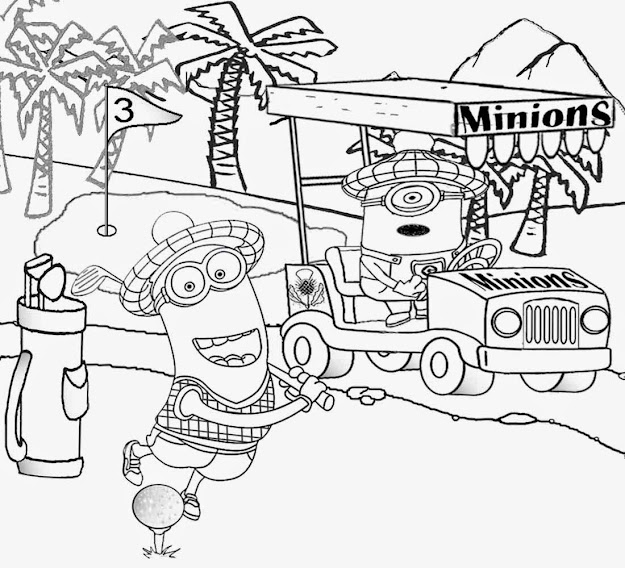 Despicable Me  Giant Coloring And Activity Book Despicable Me Coloring  Pages