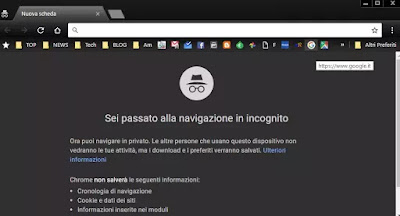 browser privato sempre