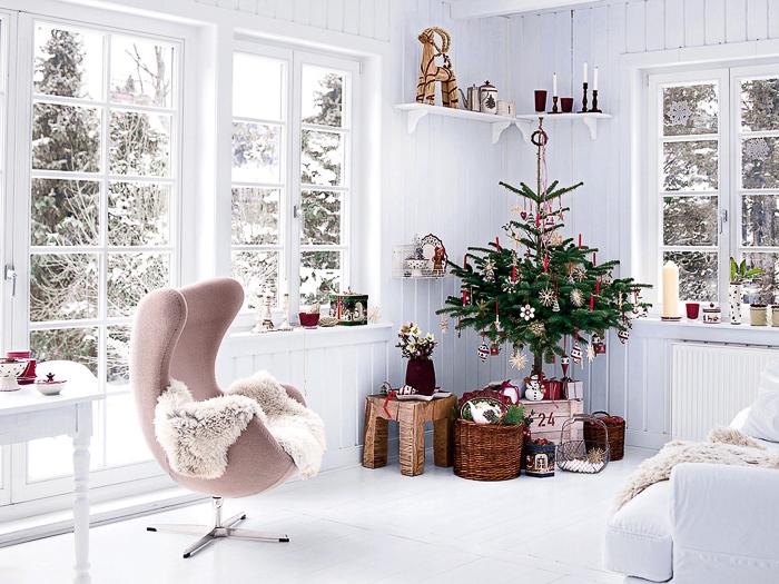 blog con ideas sobre como decorar la casa para navidad