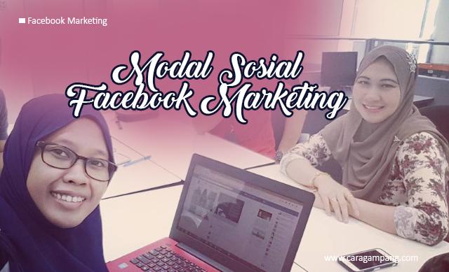 Modal Sosial Facebook Marketing
