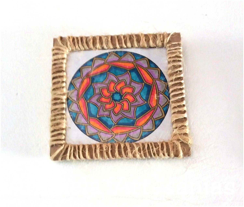 Aramela artesan as mandalas tips para hacer cuadros - Hacer cuadros decorativos ...
