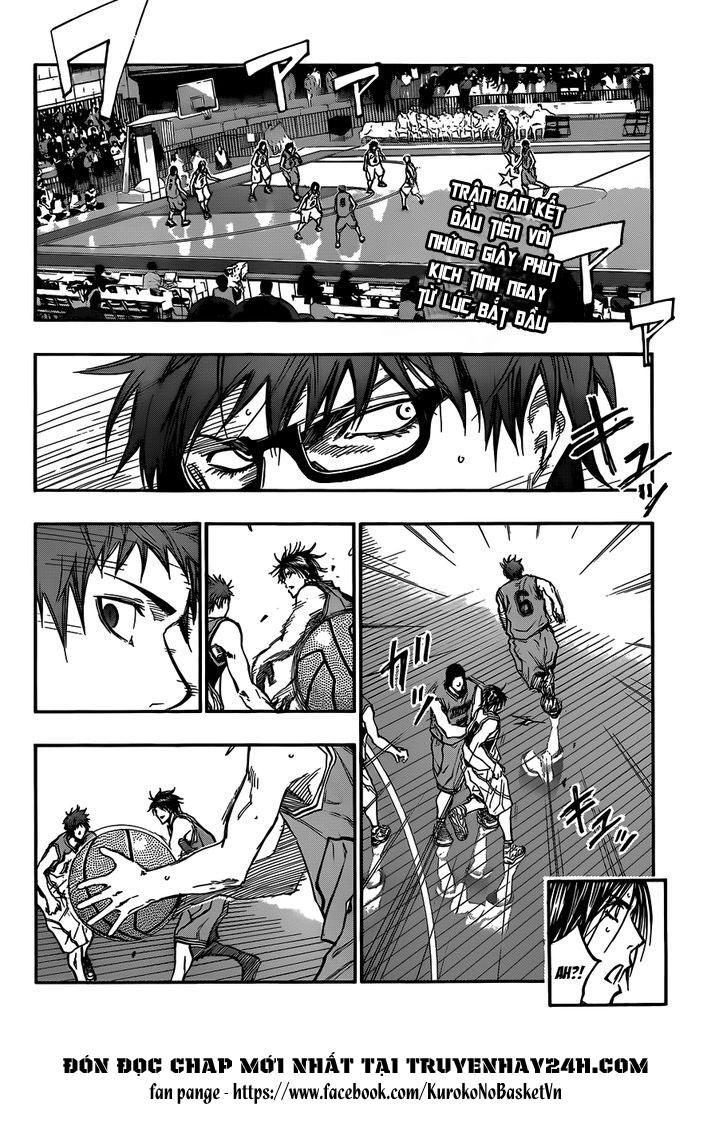 Kuroko No Basket chap 176 trang 2