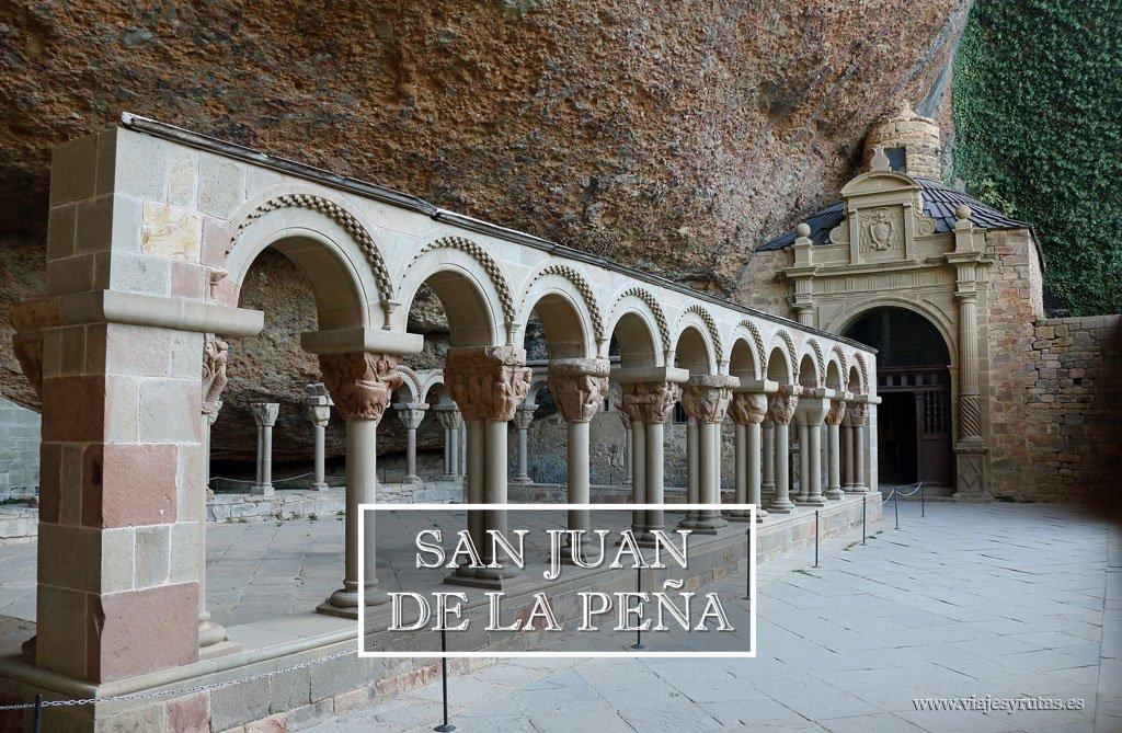 Visita al Monasterio de San Juan de la Peña (viejo y nuevo)