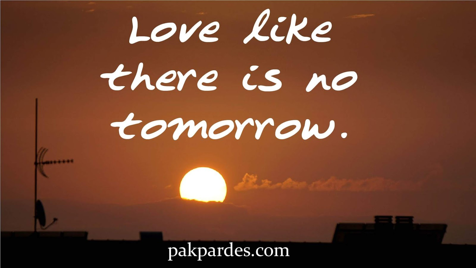 Love Like There Is No Tomorrow Stunning Love Quotes