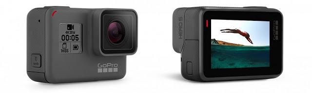 Desain GoPro HERO 5 Eleghan dan ringkas sehingga mudah dibawa kemana-mana