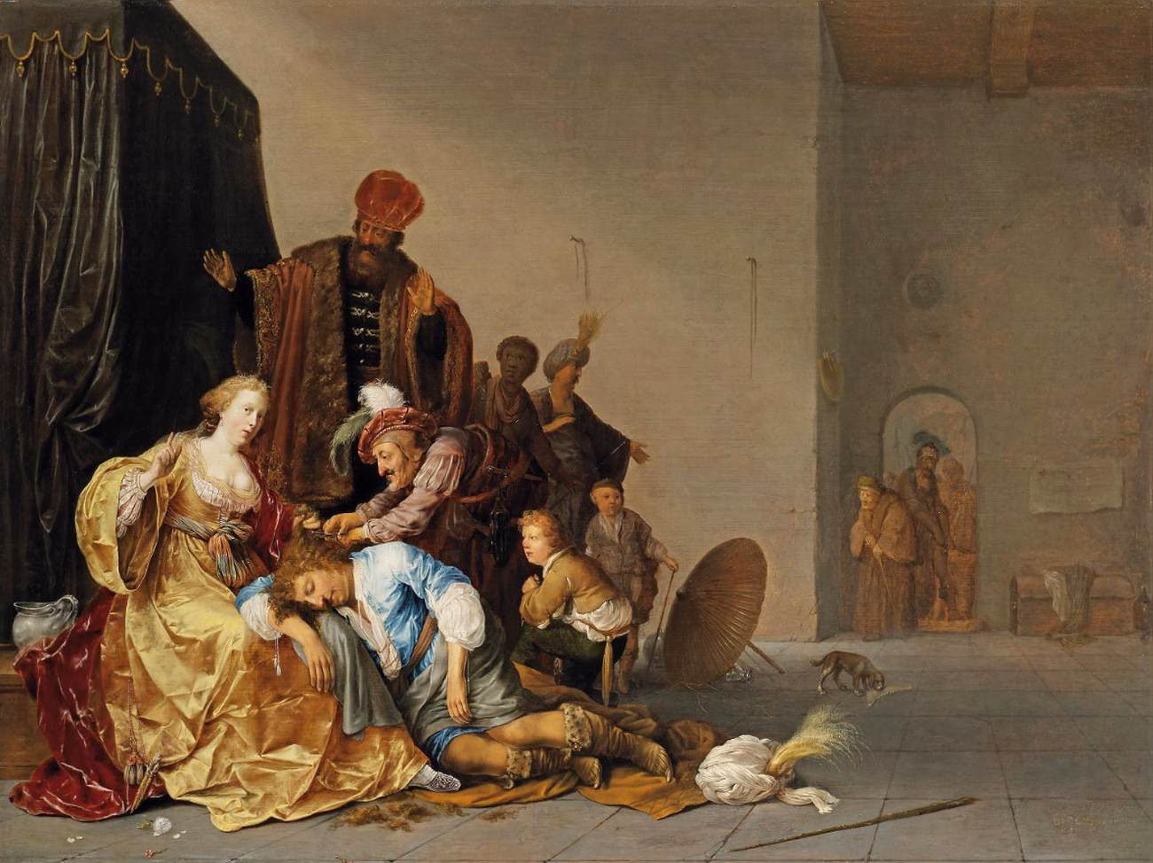 Spencer Alley: Samson & Delilah in the 17th century