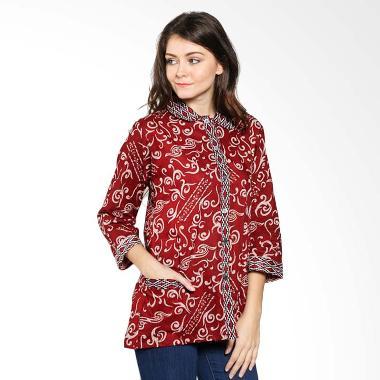 Aksesoris 24+ Model Baju Batik Guru Wanita Lengan Panjang