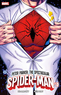 Spiderman, spectacular, zdarsky, adam kubert,marvel, retour aux sources