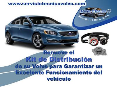 Cambio Kit de Distribucion Volvo