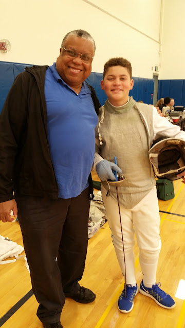 Binghamton Fall Open 3:  His First Fencing Meet :) --How Did I Get Here? My Amazing Genealogy Journey