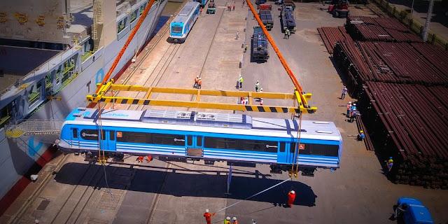 Nuevos coches eléctricos para las líneas Mitre y Sarmiento de ferrocarril