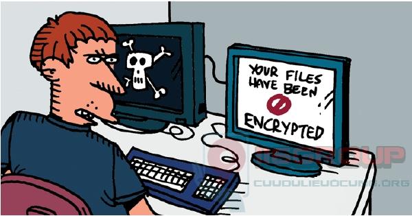 Cách diệt virus mã hóa tài liệu Ransomware đổi đuôi dữ liệu đòi tiền chuộc