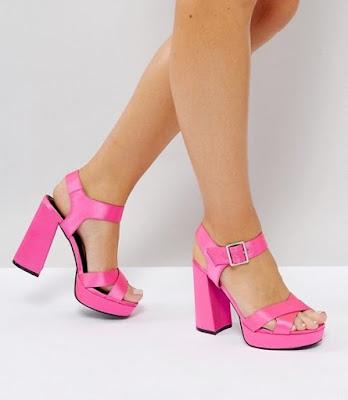 zapatos de tacon grueso de moda