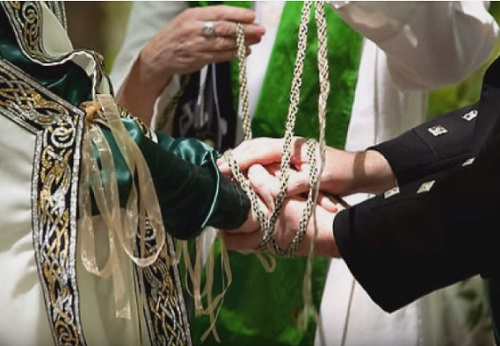 Wedding Traditions And Meanings: Handfasting Tradition