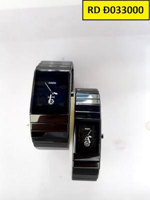 Đồng hồ đeo tay cặp đôi dây đá Rado RD Đ033000