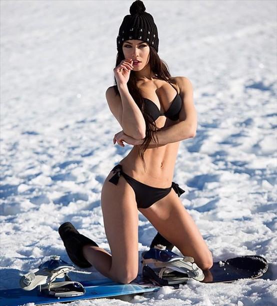 Fitness Model STEPHANIE DAVIS photoshoot