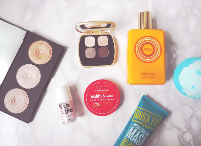 August Favourites bareMineral Makeup Revolution Estee Lauder Lush