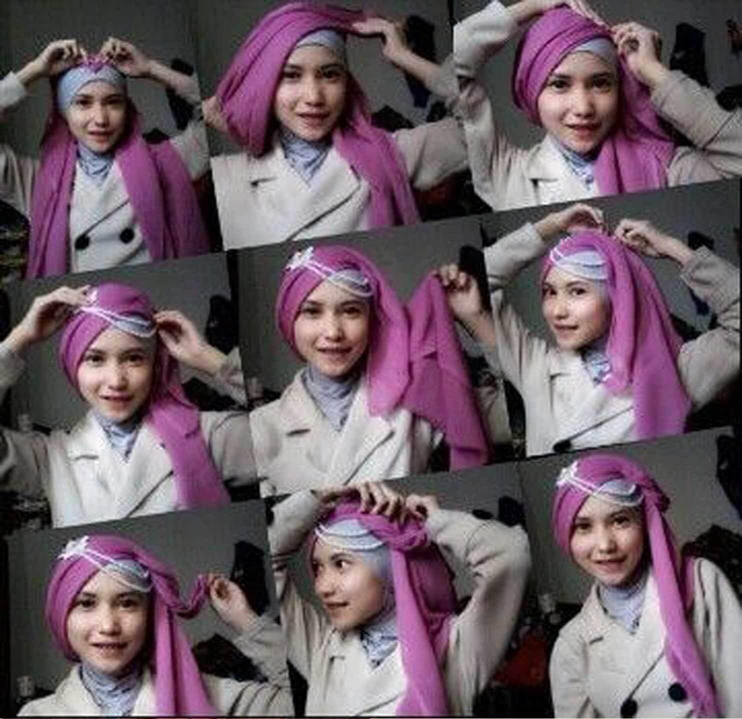 YP Hajah Kasih Tutorial Hijab