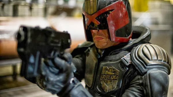Karl Urban in 2012's Dredd.