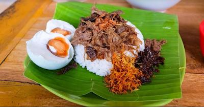 Nasi Bekepor Kalimantan