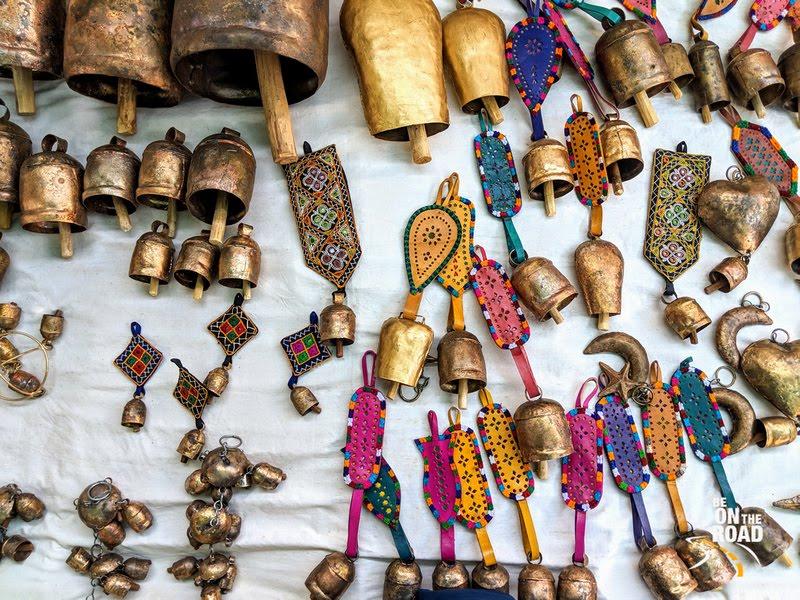 Scrap metal turned into amazing bells at Nirona, Kutch