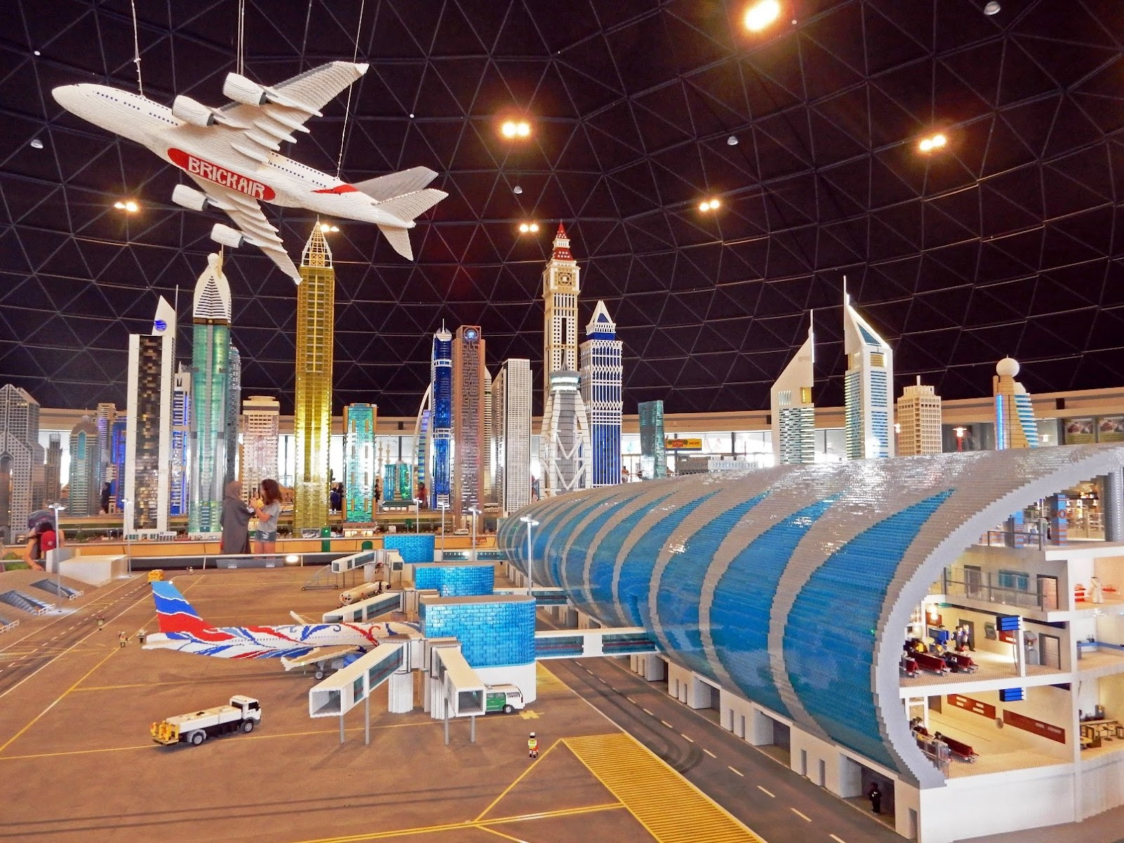 The Viewing Deck Dubai Parks And Resorts 1st Part