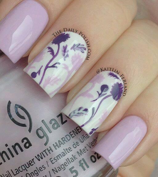 Diseños De Manicure Color Morado Hoy Bella Consejos De