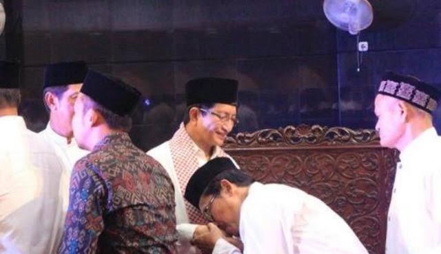 Ulama Paslon 01 dan 02 Bersatu Sambut Ramadan Bersama