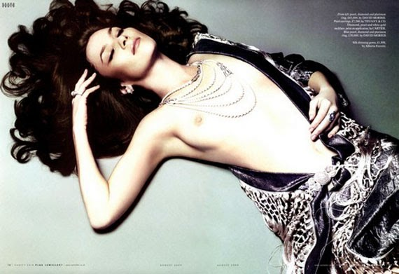 O My Celebrity Anna Friel Topless In Vanity Fair Pictures