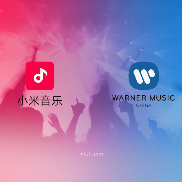 Xiaomi assina acordo de parceria com a Warner Music