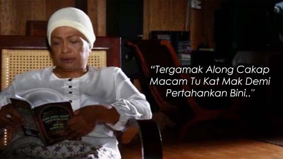 """""""Tergamak Along Cakap Macam Tu Kat Mak Demi Pertahankan Bini.."""""""