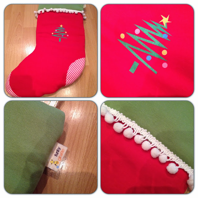 funky giraffe stocking
