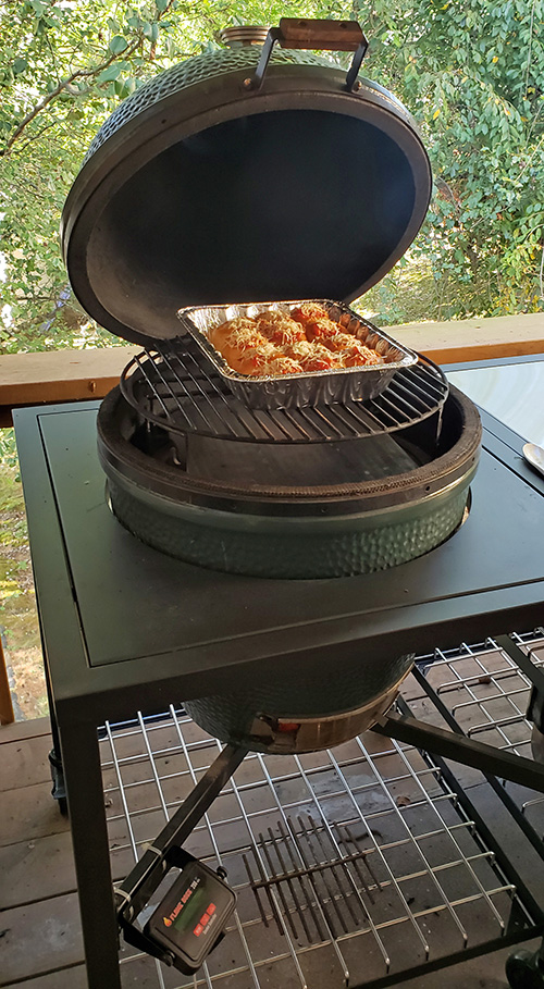 Big Green Egg Modular Nest system review