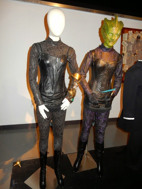 Doctor Who Jenny Flint Madame Vastra costumes