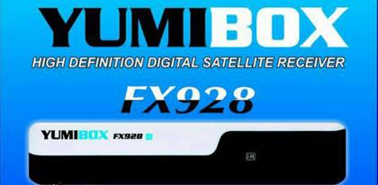 YUMIBOX FX928 HD ATUALIZAÇÃO V1.43