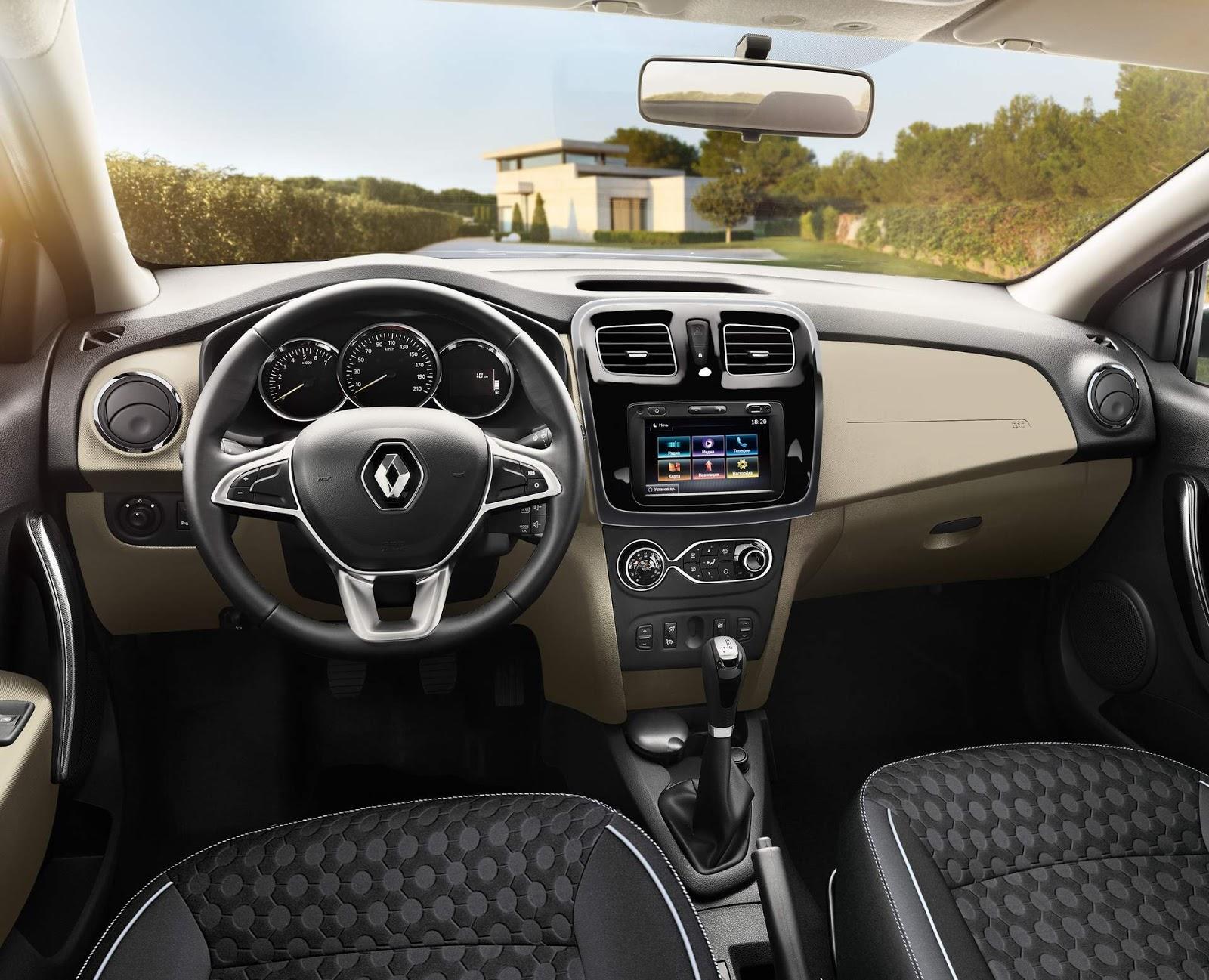 Novos Renault Sandero e Logan 2019 com facelift - fotos ...